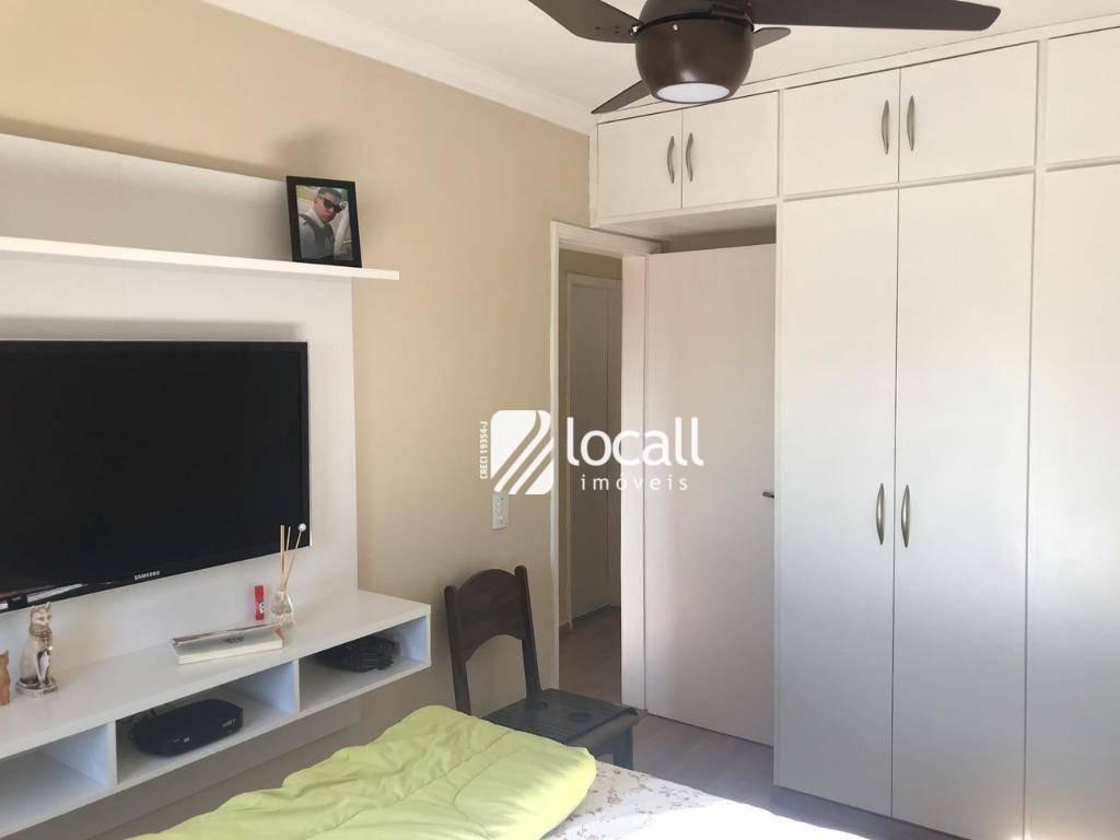 apartamento com 3 dormitórios à venda, 71 m² por r$ 295.000 - vila imperial - são josé do rio preto/sp - ap1859