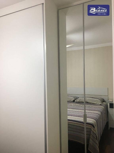 apartamento com 3 dormitórios à venda, 71 m² por r$ 425.000 - macedo - guarulhos/sp - ap3738