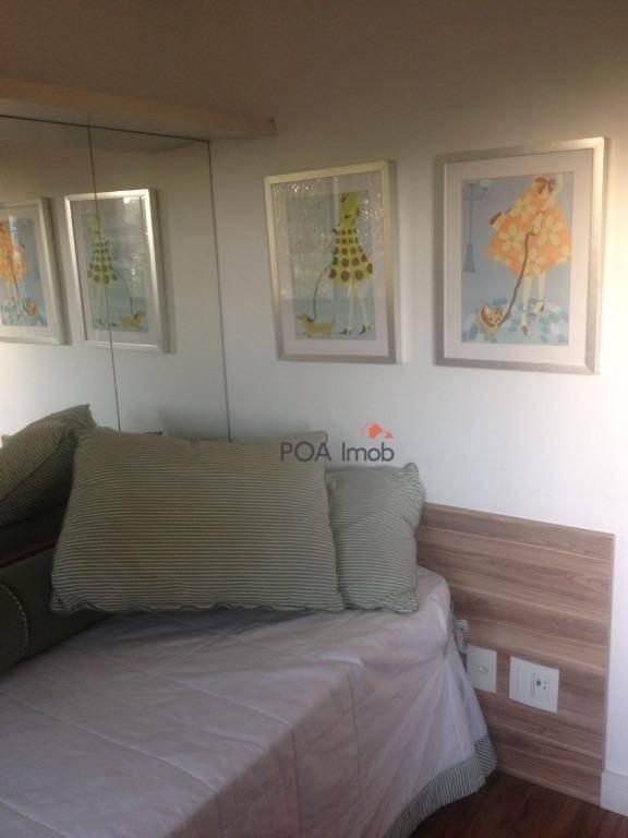 apartamento com 3 dormitórios à venda, 71 m² por r$ 550.000,00 - petrópolis - porto alegre/rs - ap1233