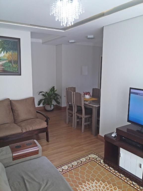 apartamento com 3 dormitórios à venda, 72 m² por r$ 180.000 - rio grande - palhoça/sc - ap5080