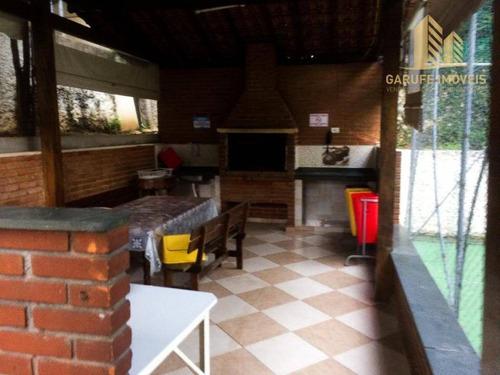 apartamento com 3 dormitórios à venda, 72 m² por r$ 288.000,00 - jardim satélite - são josé dos campos/sp - ap1143