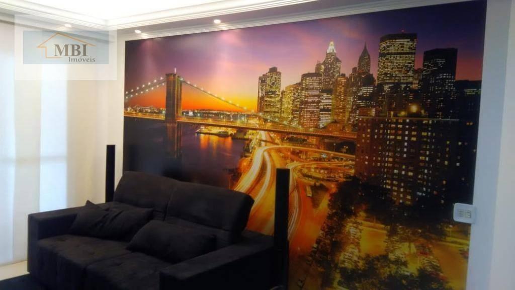 apartamento com 3 dormitórios à venda, 72 m² por r$ 645.000 - tatuapé - são paulo/sp - ap1137