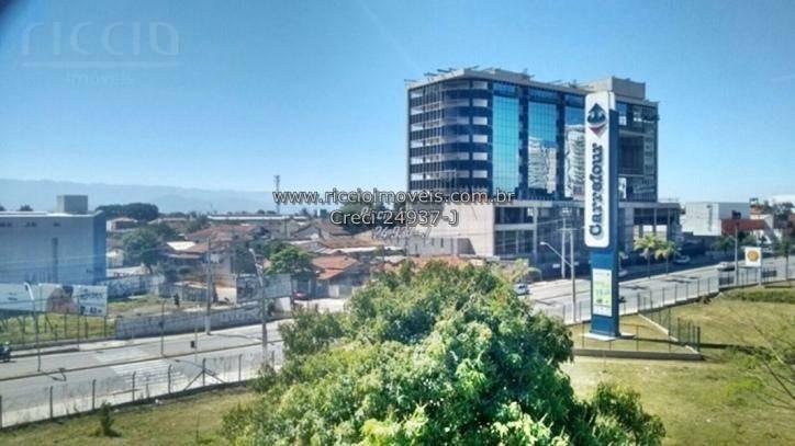 apartamento com 3 dormitórios à venda, 73 m² por r$ 270.000,00 - jardim das nações - taubaté/sp - ap1458