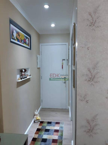 apartamento com 3 dormitórios à venda, 73 m² por r$ 285.000 - jardim jaraguá - taubaté/sp - ap2888