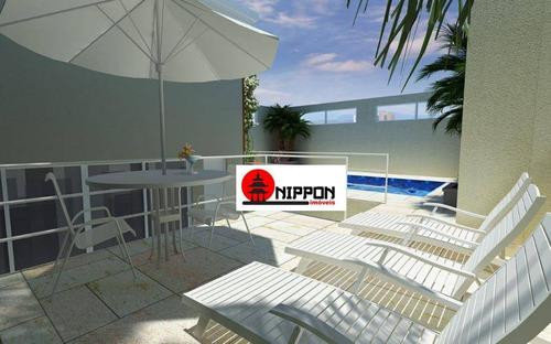 apartamento com 3 dormitórios à venda, 73 m² por r$ 330.000 - vila galvão - guarulhos/sp - ap1194