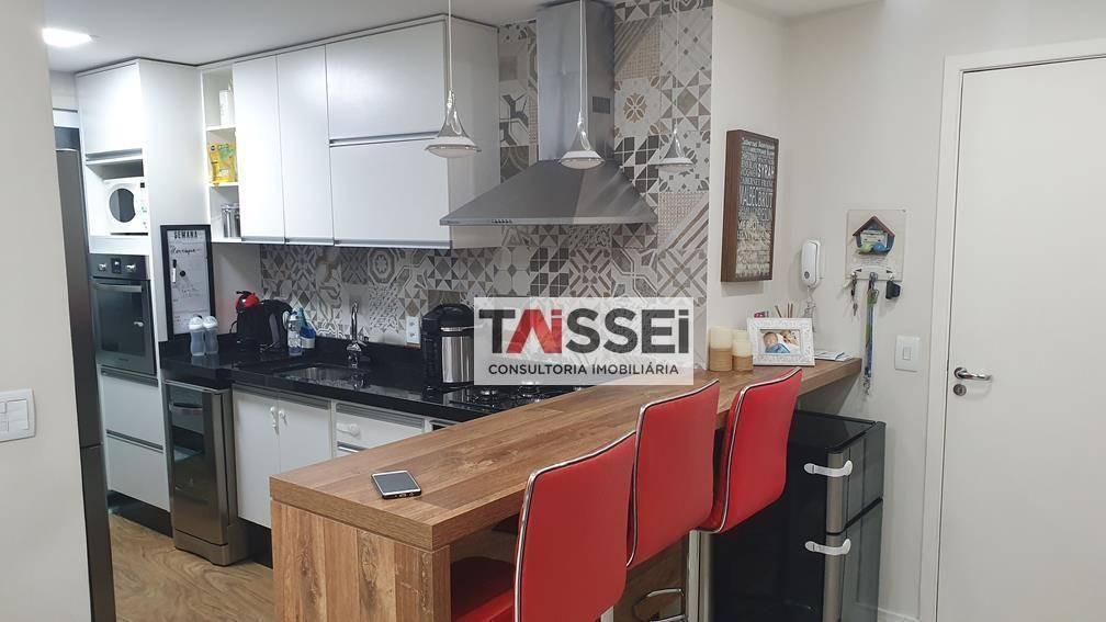 apartamento com 3 dormitórios à venda, 73 m² por r$ 525.000,00 - vila prudente - são paulo/sp - ap6229
