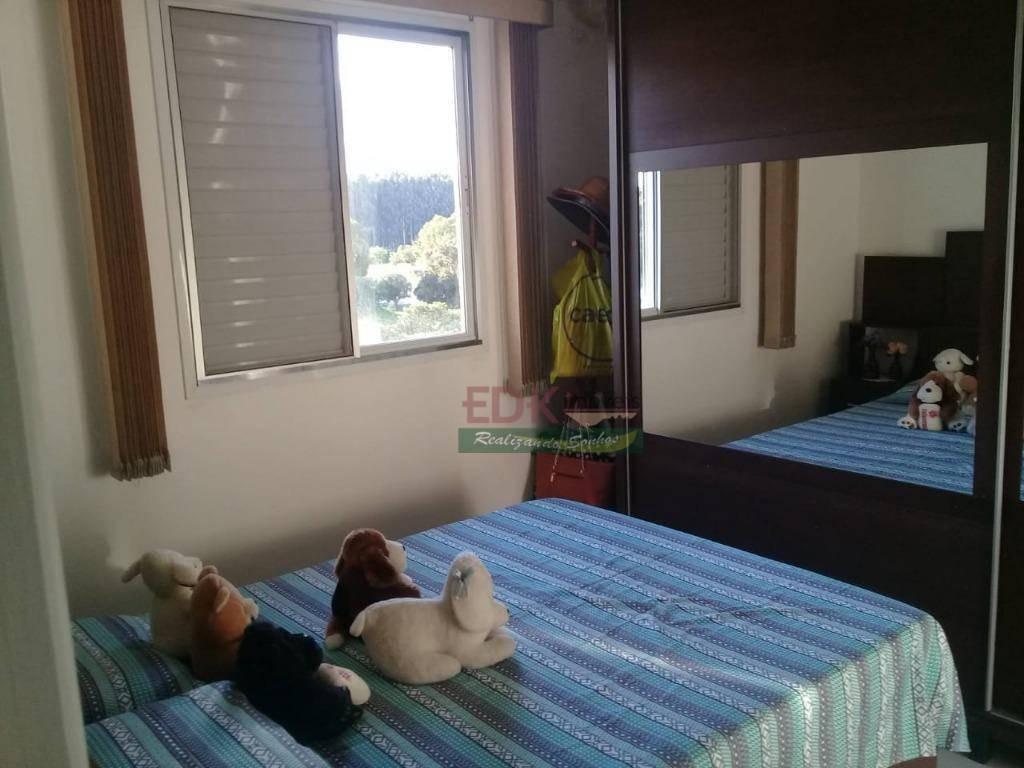 apartamento com 3 dormitórios à venda, 74 m² por r$ 260.000 - vila são josé - taubaté/sp - ap2883