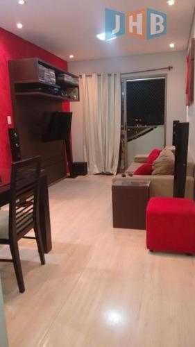 apartamento com 3 dormitórios à venda, 75 m² - jardim satélite - são josé dos campos/sp - ap1721