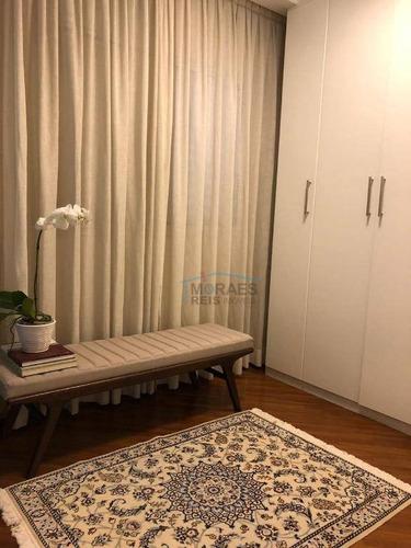 apartamento com 3 dormitórios à venda, 75 m² por r$ 1.010.000,00 - jardim paulista - são paulo/sp - ap13731