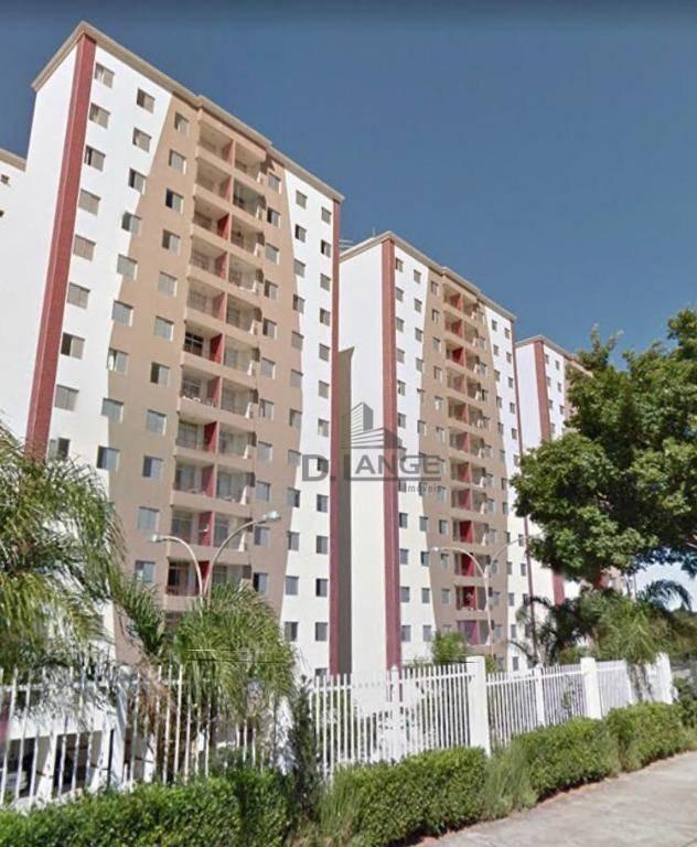 apartamento com 3 dormitórios à venda, 75 m² por r$ 370.000 - jardim anton von zuben - campinas/sp - ap17758