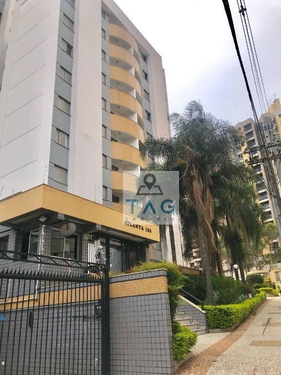 apartamento com 3 dormitórios à venda, 75 m² por r$ 392.200 - botafogo - campinas/sp - ap0441
