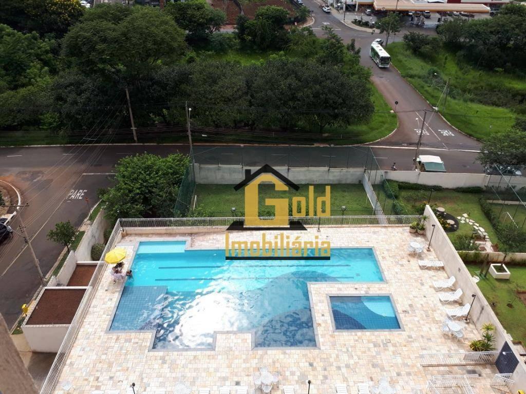 apartamento com 3 dormitórios à venda, 75 m² por r$ 395.000 - jardim botânico - ribeirão preto/sp - ap1820