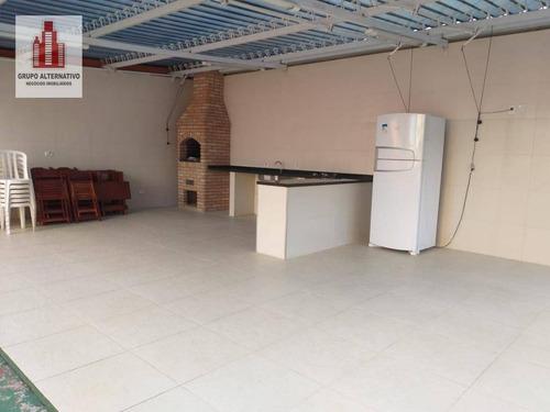 apartamento com 3 dormitórios à venda, 75 m² por r$ 442.000 - penha de frança - são paulo/sp - ap1058