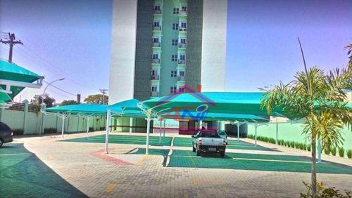 apartamento com 3 dormitórios à venda, 76 m² - jardim villagio ghiraldelli - hortolândia/sp - ap0047