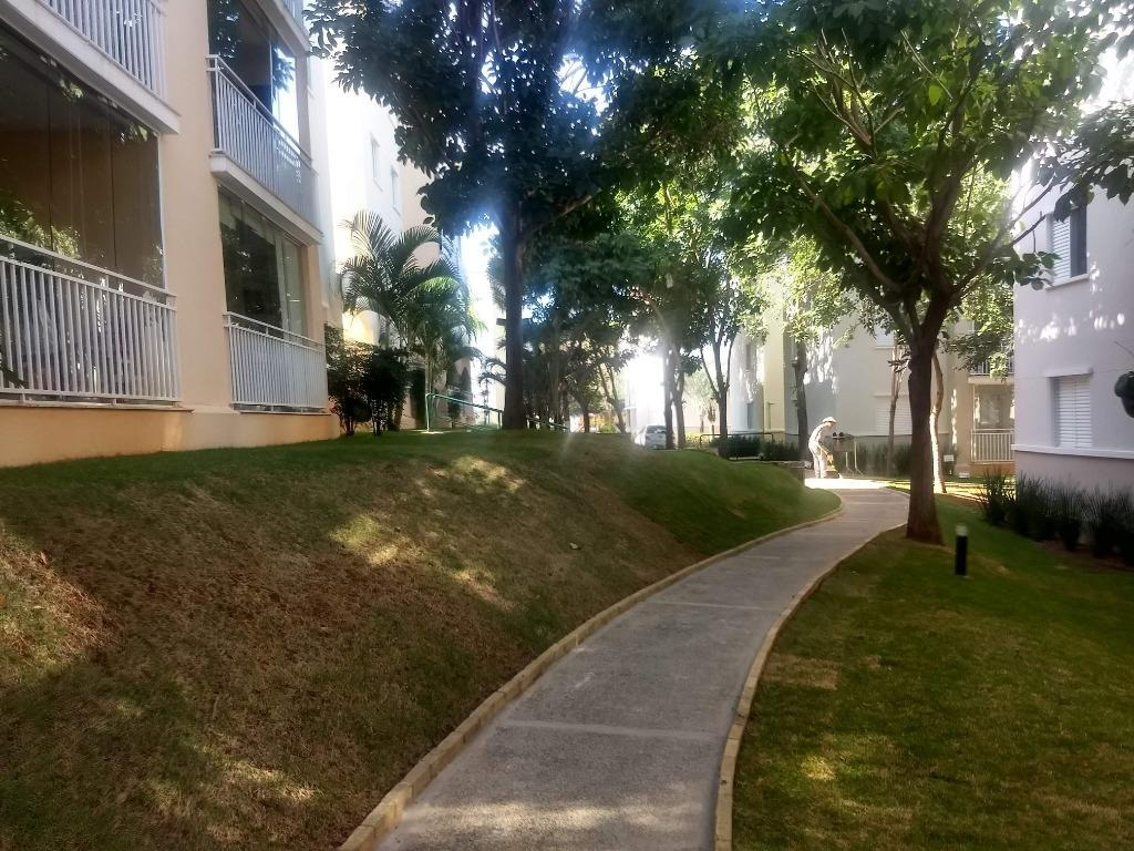 apartamento com 3 dormitórios à venda, 76 m² por r$ 415.000 - loteamento center santa genebra - campinas/sp - ap5458