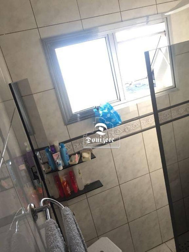 apartamento com 3 dormitórios à venda, 76 m² por r$ 450.000 - campestre - santo andré/sp - ap11432