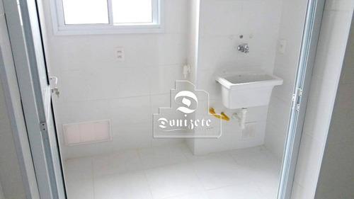 apartamento com 3 dormitórios à venda, 76 m² por r$ 462.000 - vila floresta - santo andré/sp - ap11306