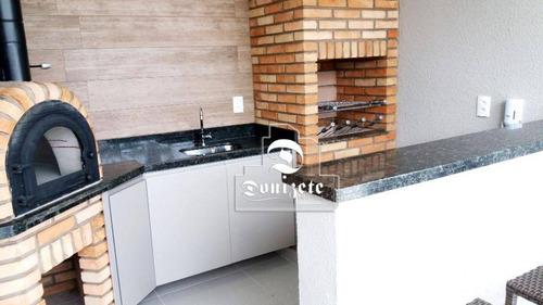 apartamento com 3 dormitórios à venda, 76 m² por r$ 462.000 - vila floresta - santo andré/sp - ap11310