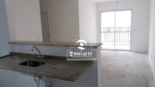 apartamento com 3 dormitórios à venda, 76 m² por r$ 462.000 - vila floresta - santo andré/sp - ap11311