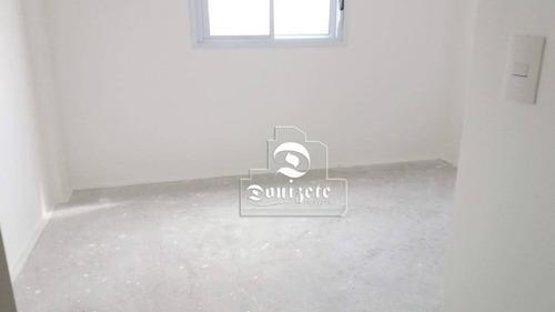 apartamento com 3 dormitórios à venda, 76 m² por r$ 462.000 - vila floresta - santo andré/sp - ap11320
