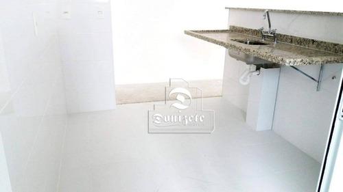 apartamento com 3 dormitórios à venda, 76 m² por r$ 462.000 - vila floresta - santo andré/sp - ap11321