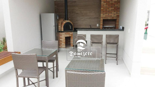 apartamento com 3 dormitórios à venda, 76 m² por r$ 472.800 vila floresta - santo andré/sp - ap11310