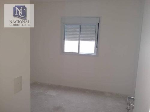 apartamento com 3 dormitórios à venda, 76 m² por r$ 520.000 - vila floresta - santo andré/sp - ap8781