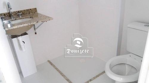 apartamento com 3 dormitórios à venda, 76 m² por r$  - vila floresta - santo andré/sp - ap11298