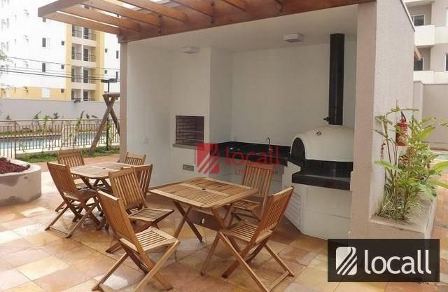 apartamento com 3 dormitórios à venda, 77 m² por r$ 430.000,00 - higienópolis - são josé do rio preto/sp - ap0723