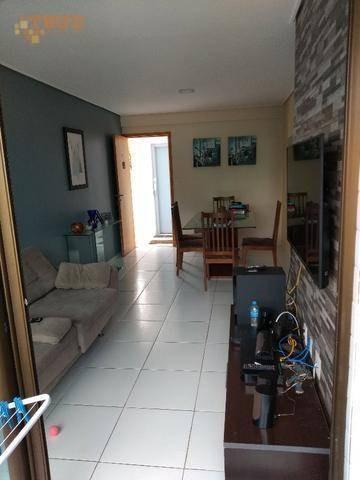 apartamento com 3 dormitórios à venda, 77 m² por r$ 520.000,00 - espinheiro - recife/pe - ap3478