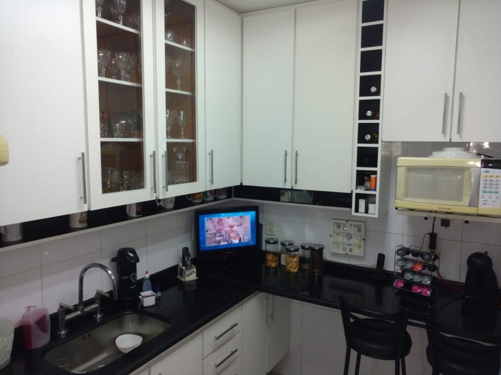 apartamento com 3 dormitórios à venda, 78 m² - rudge ramos - são bernardo do campo/sp - ap61540