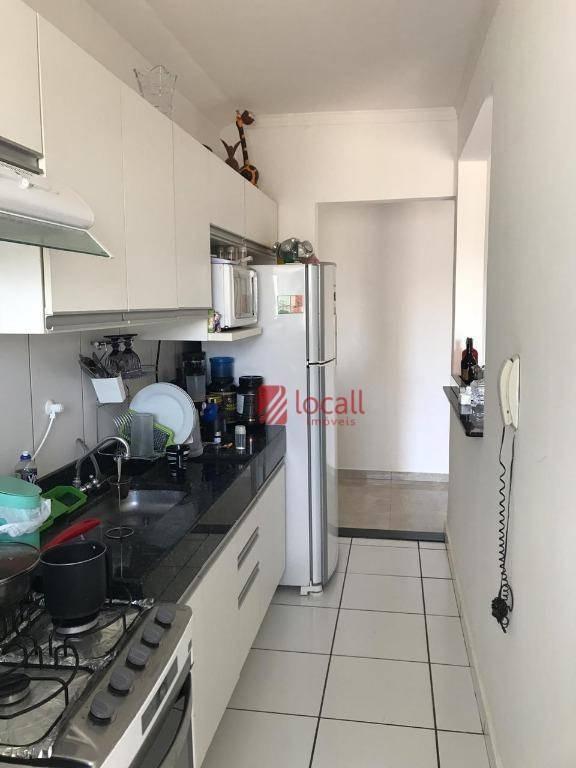 apartamento com 3 dormitórios à venda, 80 m² por r$ 235.000 - jardim bosque das vivendas - são josé do rio preto/sp - ap1514