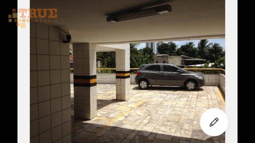 apartamento com 3 dormitórios à venda, 80 m² por r$ 320.000,00 - madalena - recife/pe - ap3373