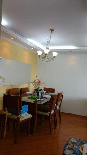 apartamento com 3 dormitórios à venda, 80 m² por r$ 395.000 - jardim independência - são paulo/sp - ap2377