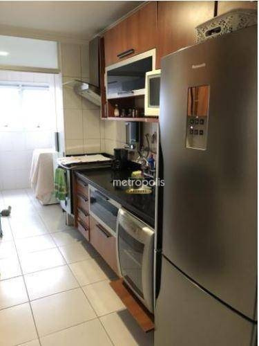 apartamento com 3 dormitórios à venda, 80 m² por r$ 425.000,00 - barcelona - são caetano do sul/sp - ap2587