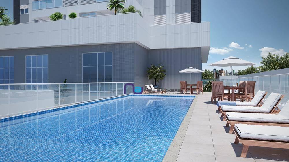 apartamento com 3 dormitórios à venda, 80,63 m² por r$ 768.000 - anália franco - são paulo/sp - ap3990