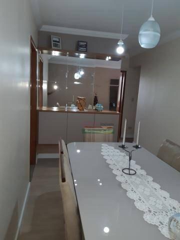 apartamento com 3 dormitórios à venda, 82 m² por r$ 402.800 - vila antônio augusto luiz - caçapava/sp - ap4196