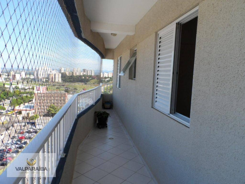 apartamento com 3 dormitórios à venda, 82 m² por r$ 425.000 - jardim satélite - são josé dos campos/sp - ap0348