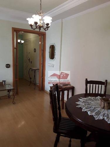 apartamento com 3 dormitórios à venda, 82 m² por r$ 500.000 - sacomã - são paulo/sp - ap5942