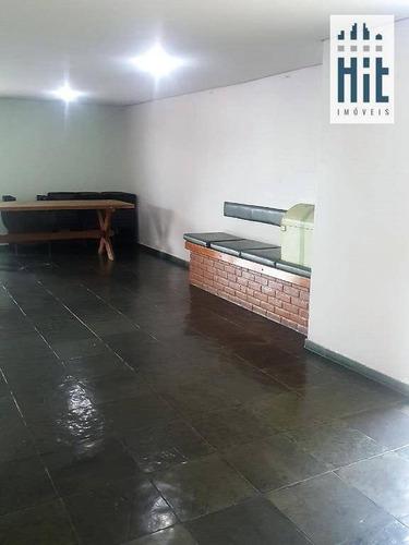 apartamento com 3 dormitórios à venda, 82 m² por r$ 520.000 - sacomã - são paulo/sp - ap1927