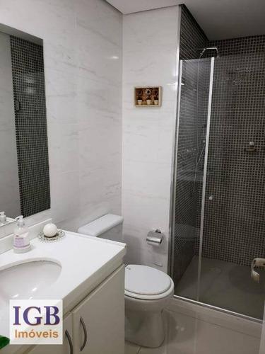 apartamento com 3 dormitórios à venda, 82 m² por r$ 520.000,00 - mandaqui - são paulo/sp - ap1412