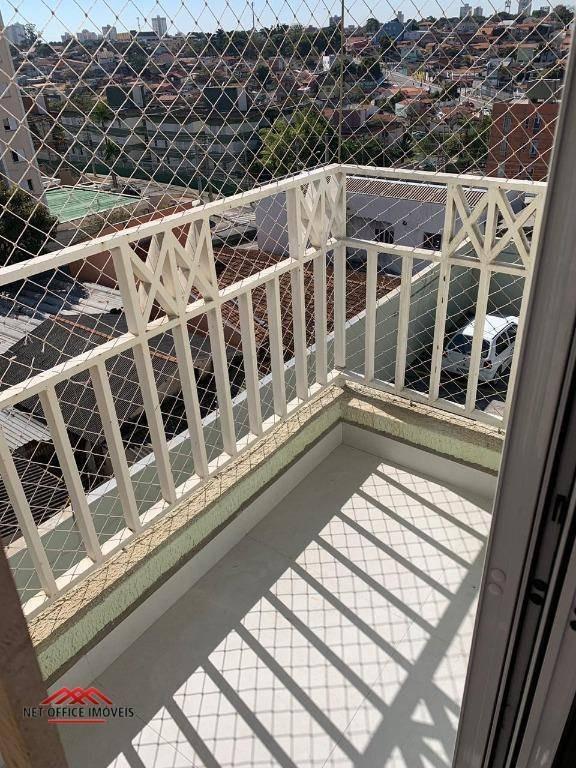apartamento com 3 dormitórios à venda, 83 m² por r$ 371.000 - edifício flor de lis - jardim américa - são josé dos campos/sp - ap1855