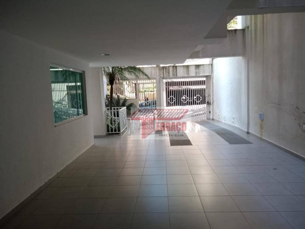 apartamento com 3 dormitórios à venda, 84 m² por r$ 420.000 - vila gilda - santo andré/sp - ap2455
