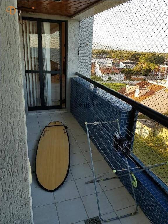 apartamento com 3 dormitórios à venda, 84 m² por r$ 560.000 - monções - matinhos/pr - ap2430