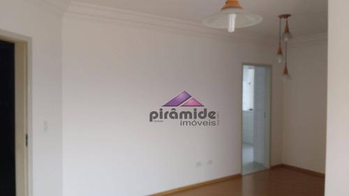 apartamento com 3 dormitórios à venda, 85 m² por r$ 360.000 - jardim das indústrias - são josé dos campos/sp - ap8539