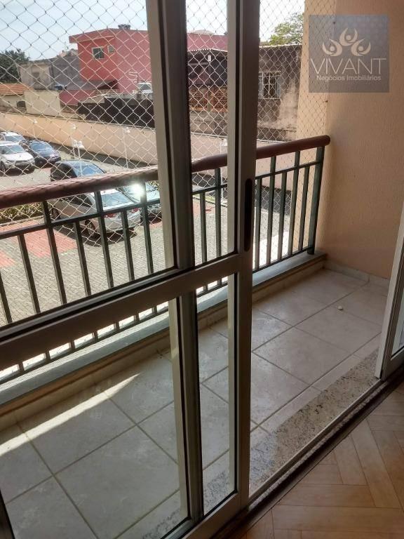 apartamento com 3 dormitórios à venda, 85 m² por r$ 370.000,00 - parque suzano - suzano/sp - ap0263