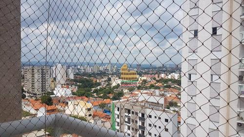 apartamento com 3 dormitórios à venda, 85 m² por r$ 400.000 - vila jardini - sorocaba/sp - ap0076