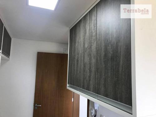 apartamento com 3 dormitórios à venda, 85 m² por r$ 430.000 - centro - vinhedo/sp - ap0049