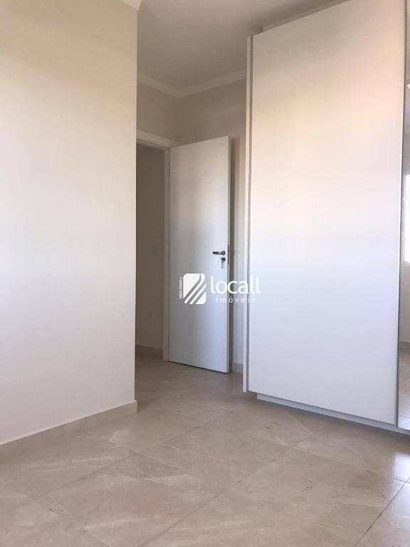 apartamento com 3 dormitórios à venda, 85 m² por r$ 450.000 - jardim urano - são josé do rio preto/sp - ap1629
