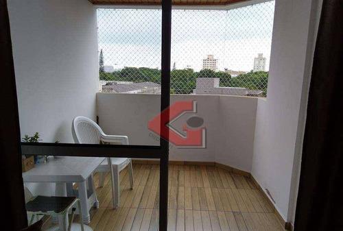 apartamento com 3 dormitórios à venda, 85 m² por r$ 457.000,00 - rudge ramos - são bernardo do campo/sp - ap2726